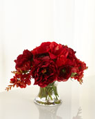 Prestigious Berry Faux-Floral Arrangement