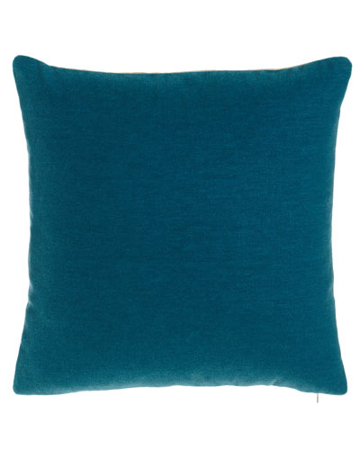 Bach Peacock Pillow
