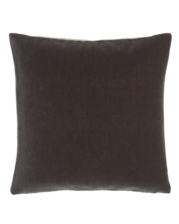 Bach Persian Gray Mohair Pillow