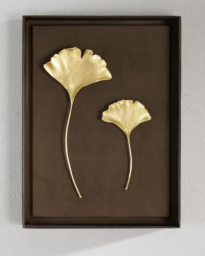 Gingko Leaf Wall Art