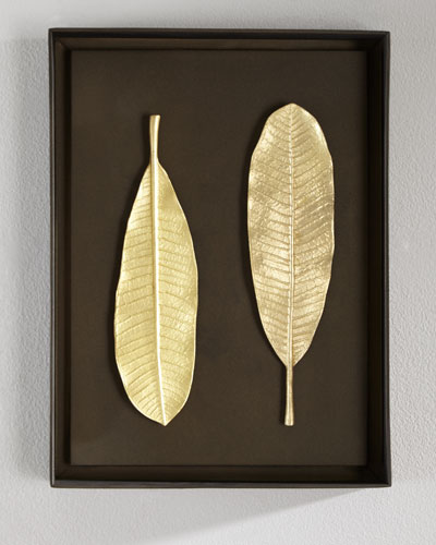Champa Leaf Wall Art