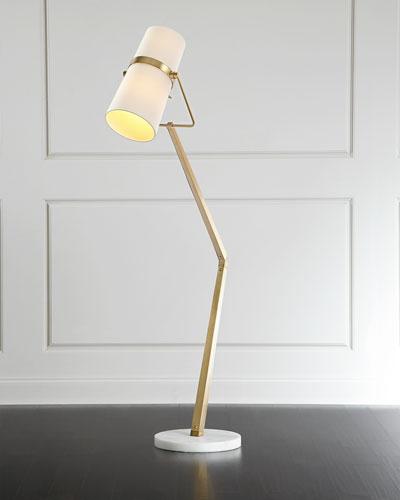 Angled Floor Lamp