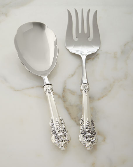 Wallace Silversmiths Grande Baroque 75th Anniversary Serving Set