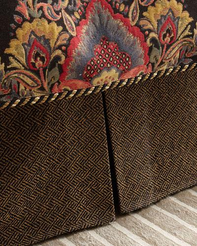 Queen/King Shangri-La Tweed Dust Skirt