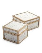 Positano Boxes, 2-Piece Set