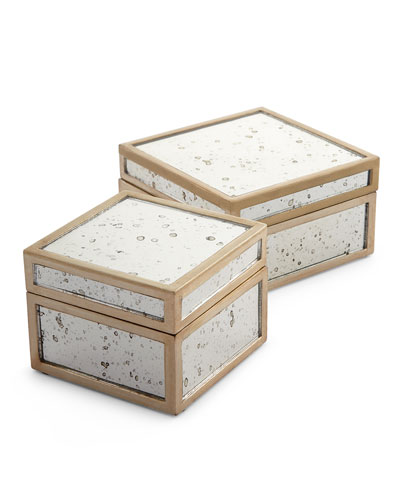 Positano Boxes, 2-Piece Set