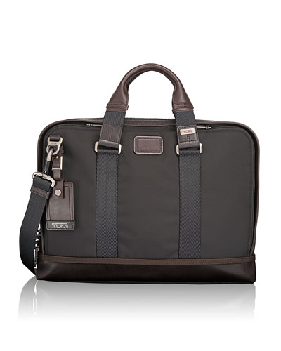 Alpha Bravo Anthracite Andrews Slim Brief