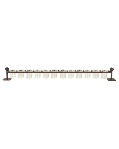12-Light Railroad Candleholder