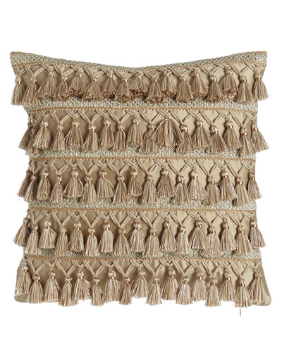 Gwenneth Tassel-Front Pillow, 16