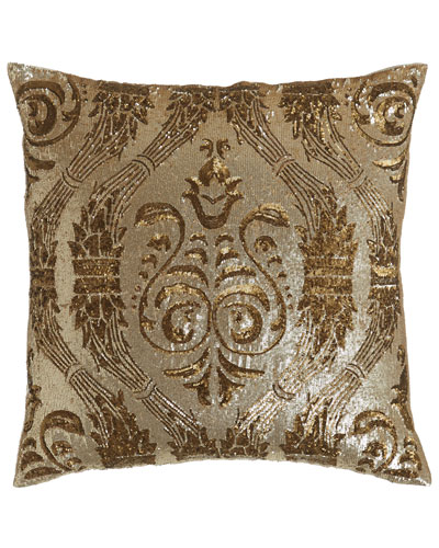 Sequined Pillow, 22