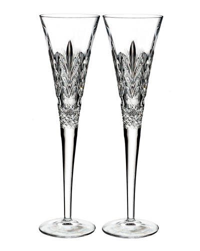 Times Square Gift of Kindness Flutes, Set of 2