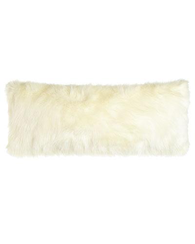 Pearl Shag Faux-Fur Pillow, 15