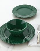 12-Piece Green Marta Dinnerware Service