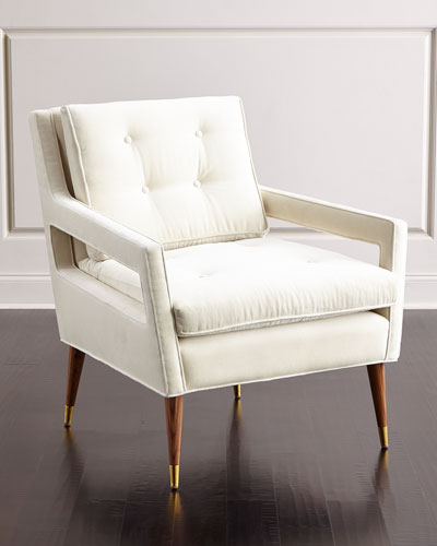 Morris Tufted-Back Chair