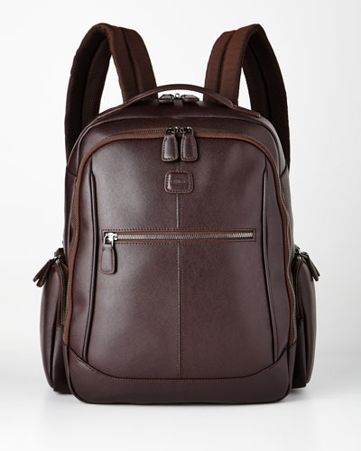Varese Brown Large Executive Backpack