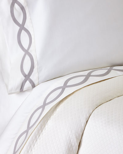Queen Arcadia 340 Thread Count Sheet Set