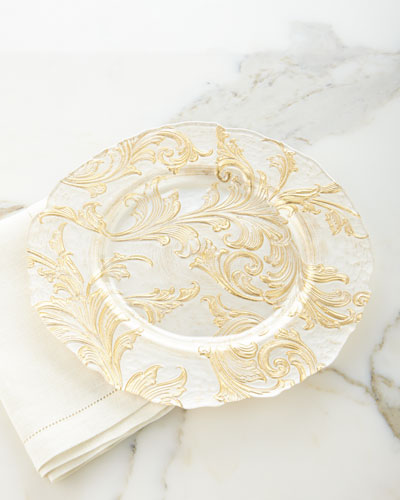 Vanessa Charger Plate