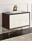Bernhardt Adagio Bachelor's Chest w/ Inlaid Capiz Shells