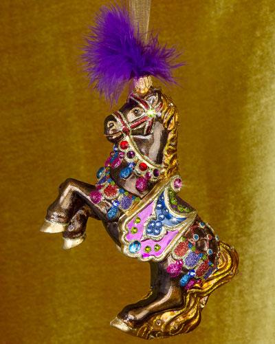 2016 Carousel Horse Christmas Ornament