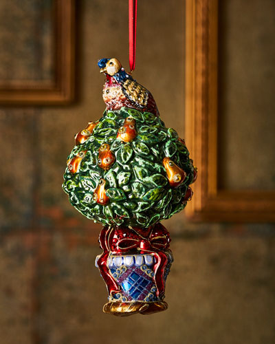 5218fbbce483 Glass Christmas Ornament | Neiman Marcus