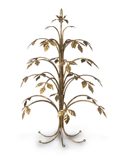 Jay Strongwater Metal Holiday Tree