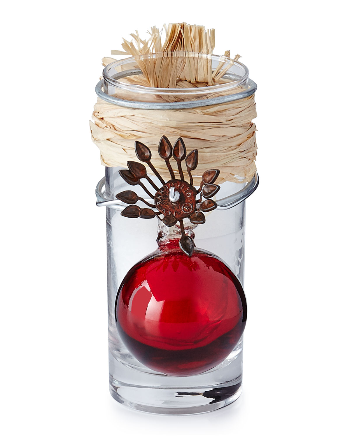 Adelita Red Holiday Candle