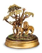 Giraffe & Lion Tableau