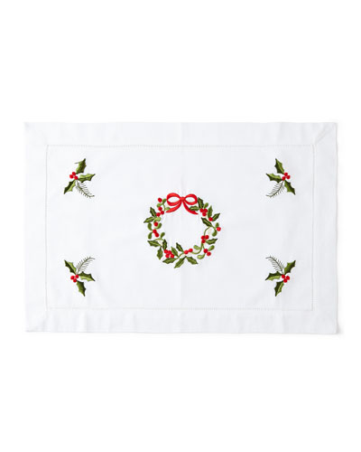 Wreath Placemats, Set of 4