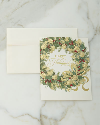 Personalized lined cards neiman marcus for Neiman marcus christmas cards
