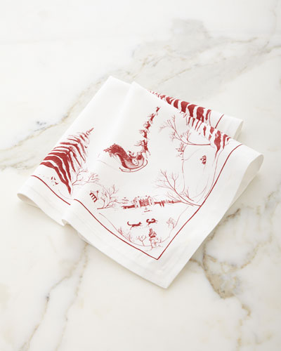 Country Estate Ruby Napkin