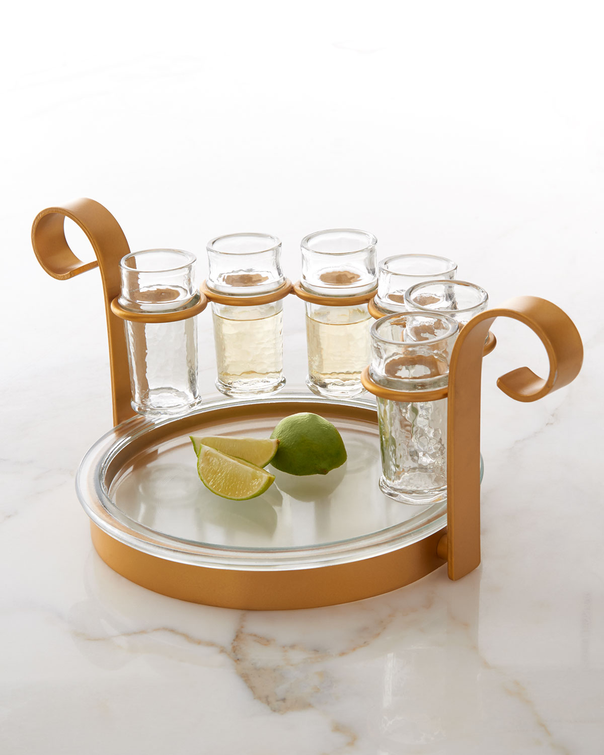 Golden 6-Shot Tequila Set