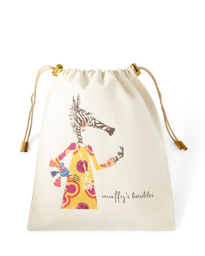 Muffy Personalized Charger Bag