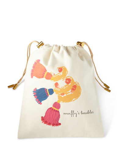 Tassel Personalized Charger Bag