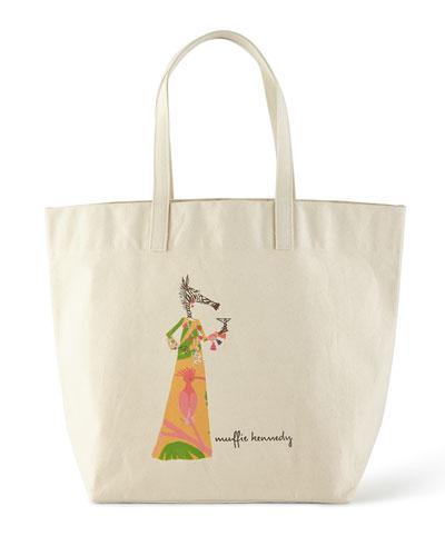 Muffy Yellow Personalized Big Bag