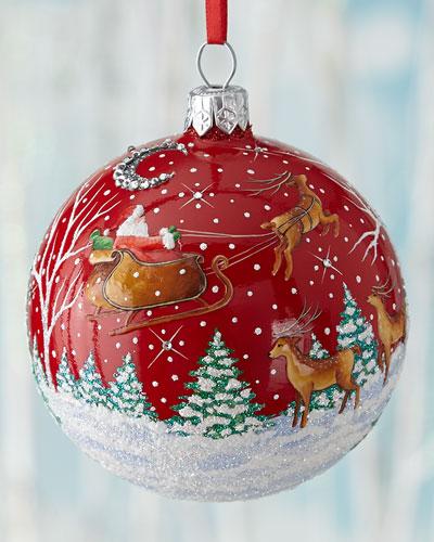 Grande Orb Christmas Ornament