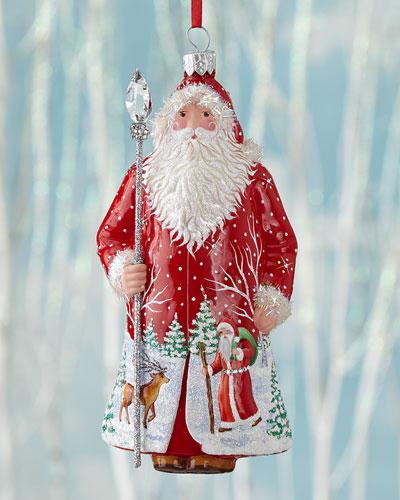 Cravane Claus Christmas Ornament