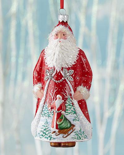 Windsor Claus Christmas Ornament