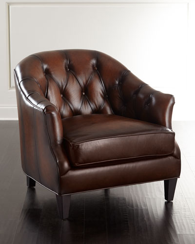 Camby Tufted Leather Chair