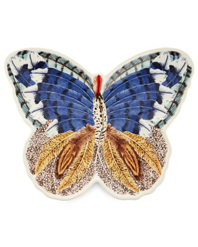 Forest Walk Butterfly Plate