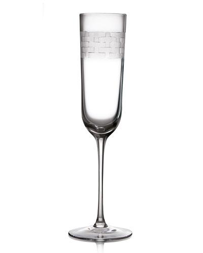 Palm Champagne Flute