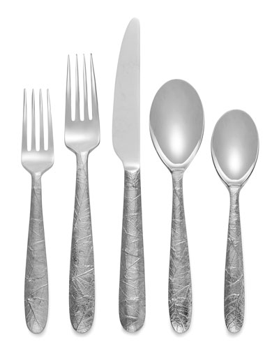 Forest Leaf 5-Piece Flatware Set