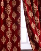 "Each 52""W x 96""L Camelot Curtain"