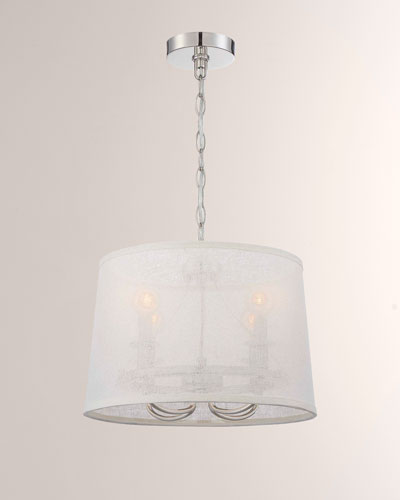 Culver 4-Light Polished-Nickel Chandelier