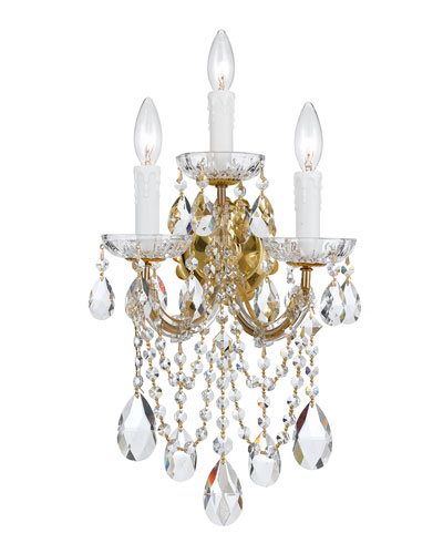 Maria Theresa 3-Light Sconce