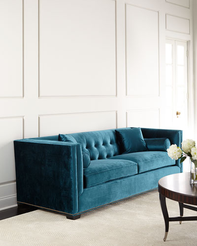 Excellent Handcrafted Tufted Sofa | Neiman Marcus HT71