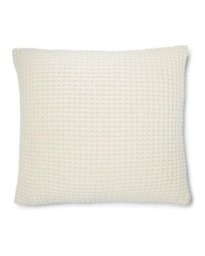 Hoxton Miller Waffle-Knit Pillow, 18