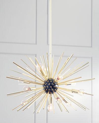 Starburst 12-Light Pendant