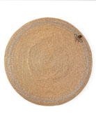 Joanna Buchanan Striped Bee Beaded Placemat