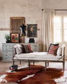 Cheshire Linen Chaise