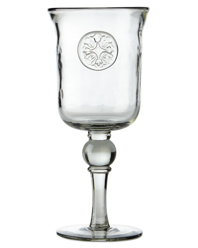 Medallion Wine Glasses, Set of 4